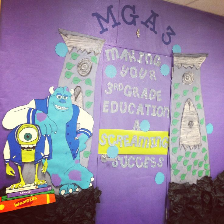 Monster Classroom Decor : Images about classroom decor monsters inc on