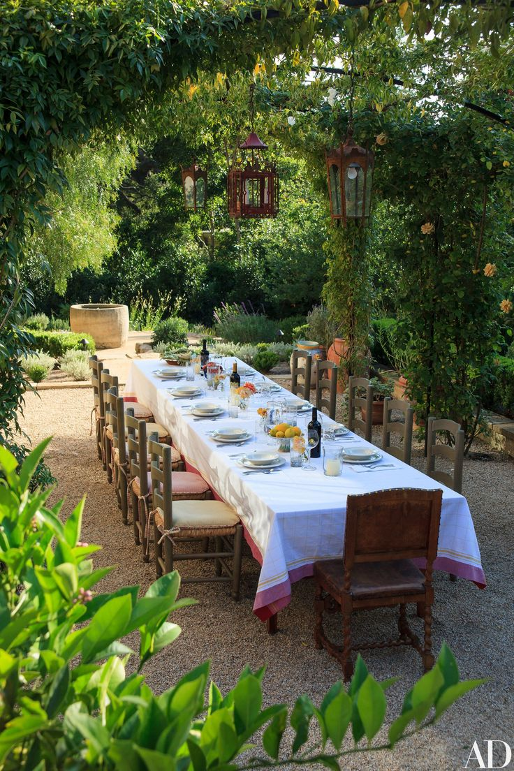 An Architect Creates a Rustic Mediterranean Inspired Garden