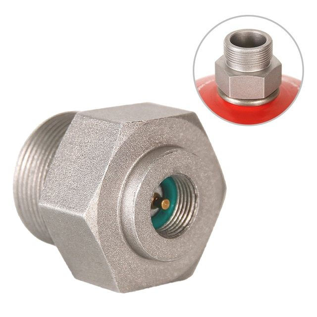 MAPP Gas Refill Adapter Outdoor Camping BBQ Stove Propane Burner Converter