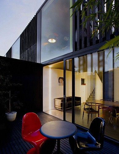 3 Mews Houses | ODOS Architects #outdoorliving #dining