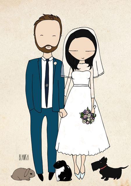 wedding portrait  wedding invitations