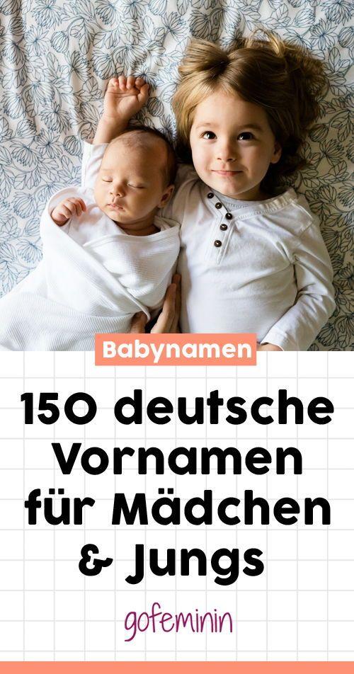 Wir haben viele schöne deutsche Vornamen, die total angesagt sind, aber gar nicht langweilig #Vornamen #Babynamen #deutscheVornamen #trendigeVornamen #trendigeNamen #TrendnamenBaby #Namenssuche #Baby #Geburt