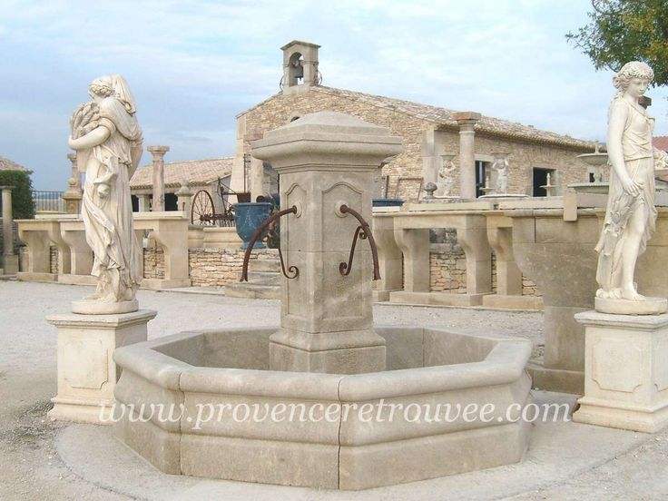 14 best Fontaines en pierre naturelle images on Pinterest   Fountain ...