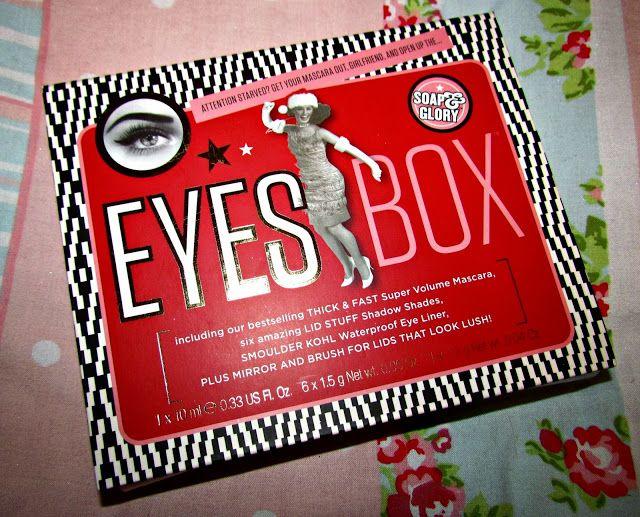 *January Giveaway* - Soap and Glory Eyes Box ♥