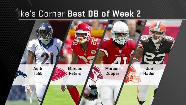 Aqib Talib? Marcus Peters? Marcus Cooper? Joe Haden?   Ike Taylor reveals his favorite DB for Week 2