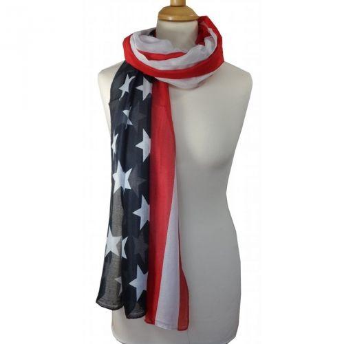 Sjaal Amerikaanse vlag € 6,95 International shipping? Just ask!