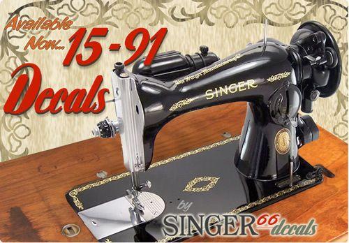 singer sewing machine no 15