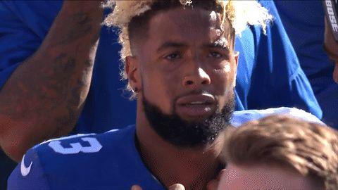 football sad nfl crying cry new york giants odell beckham jr ny giants odb sad face trending #GIF on #Giphy via #IFTTT http://gph.is/2diYvwD