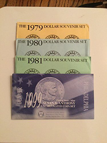 1981 Collection Collection Susan B Mint Sets Brilliant Uncirculated *** Want to know more, click on the image.