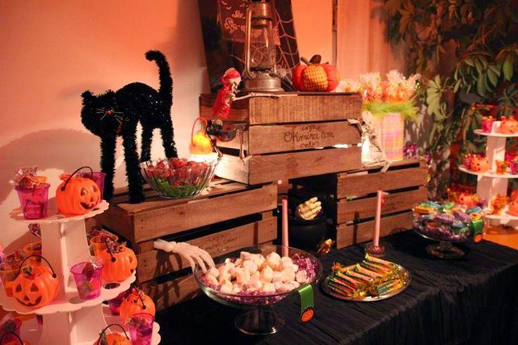 Mesa de halloween okmira www.mesadedulce.com