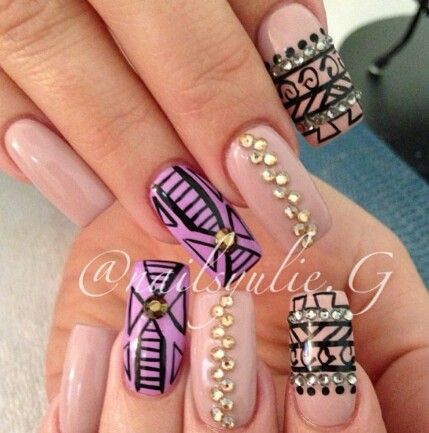 27 best images about nails on pinterest pointy nails nail and nail designs 2013 prinsesfo Gallery