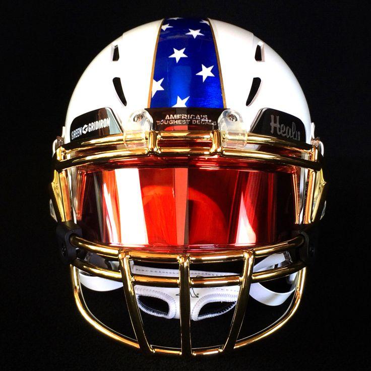 Football Helmets With Visors