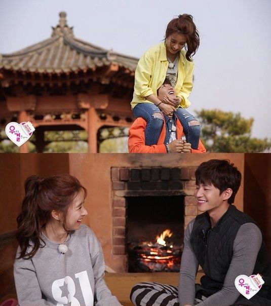 """Song Jae Rim and Kim So Eun Have a Fun and Romantic Spring Date on """"We Got Married"""""""