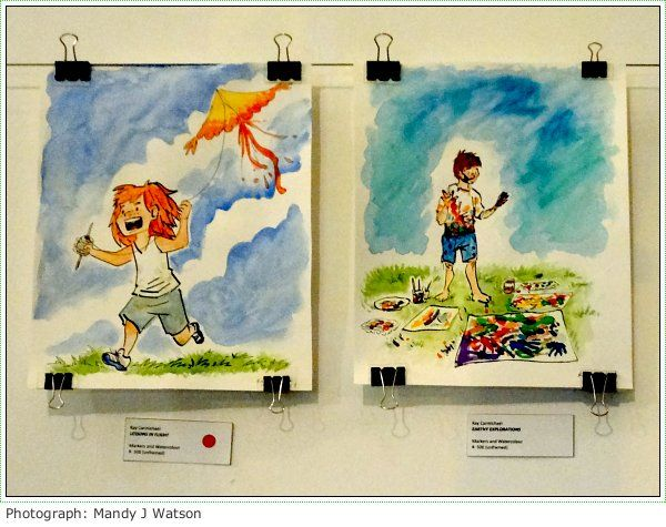 Open Art Cape Town's Humble Beginnings Showcases The Group's Artistic Talents #sacomics #openart