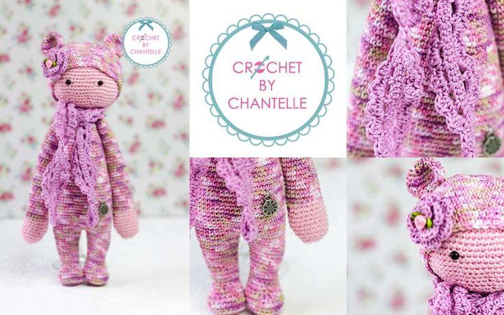 BINA the bear made by Chantelle van den N. / crochet pattern by lalylala