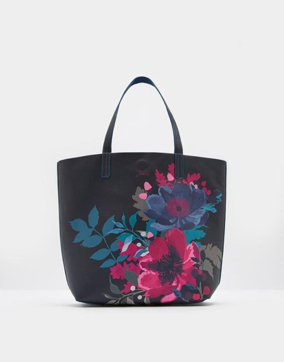 Joules Revery Print Women's Reversible Shoulder Bag