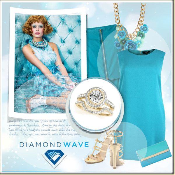 Diamondwave by isatusia on Polyvore featuring moda, Herno, Charline De Luca, Cara and diamondwave