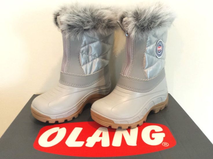 Olang Nancy Silver Snow Boots in Clothes, Shoes & Accessories, Women's Shoes, Boots | eBay