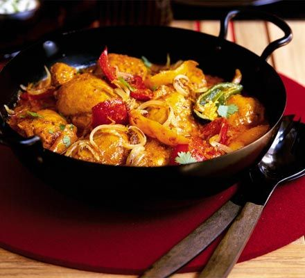 Cumin-scented chicken curry