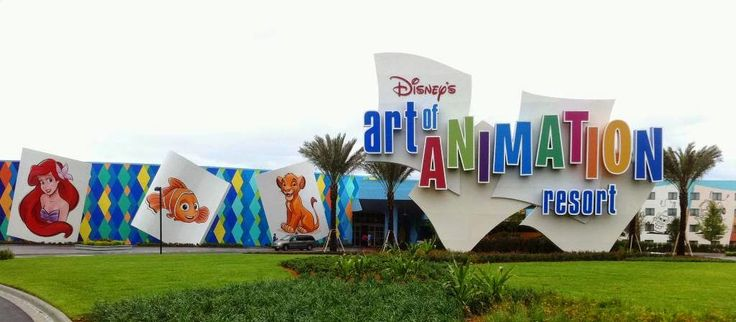 Na Disney: Hotéis no Complexo - Disney's Art Of Animation