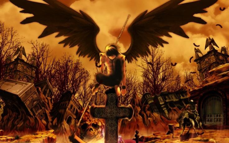 anime angel of destruction anime angels Pinterest