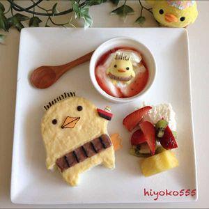 バリィさんコラボ☆クリームパンで朝ゴパン   My365