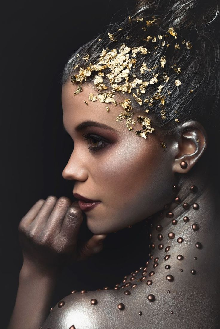 Dark Beauty Magazine  Photographer: Cyril Biselx - Cyril B Makeup: Camille Carrupt Makeup Model: Manon Moulin