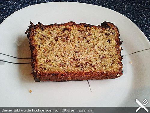 Nusskuchen mit Schokoglasur (Rezept mit Bild) von Katie | Chefkoch.de