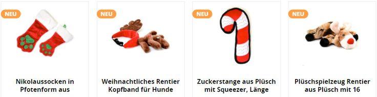 Tolle Weihnachtsspielzeuge für Hunde / Hund / Welpen / Tier / Hundespielzeug