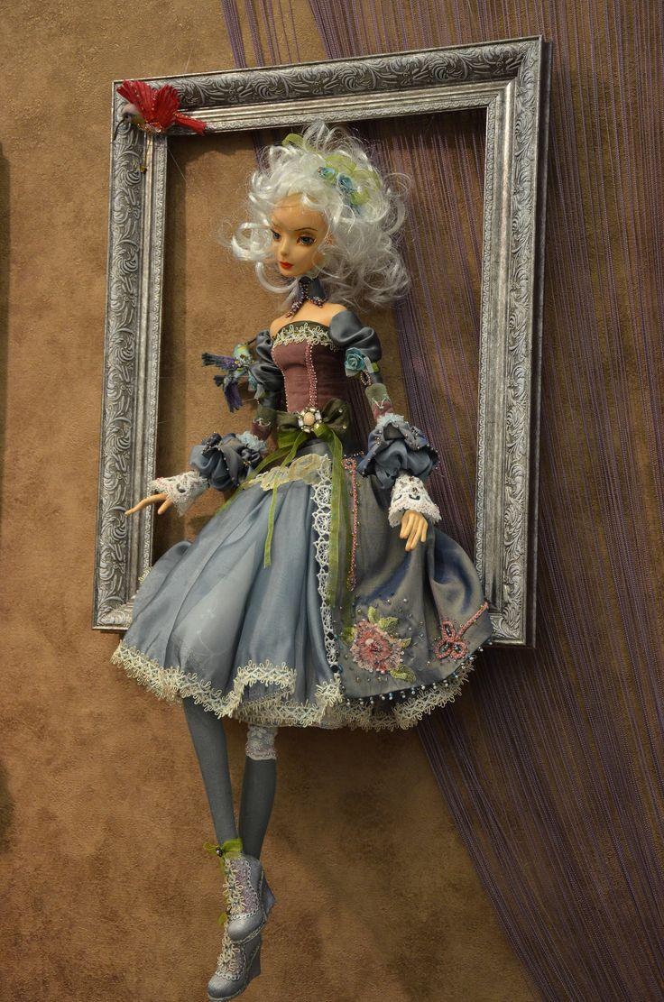 картинки кукол в рамках положение