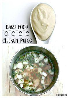 Poulet Bébé Purée   – baby food