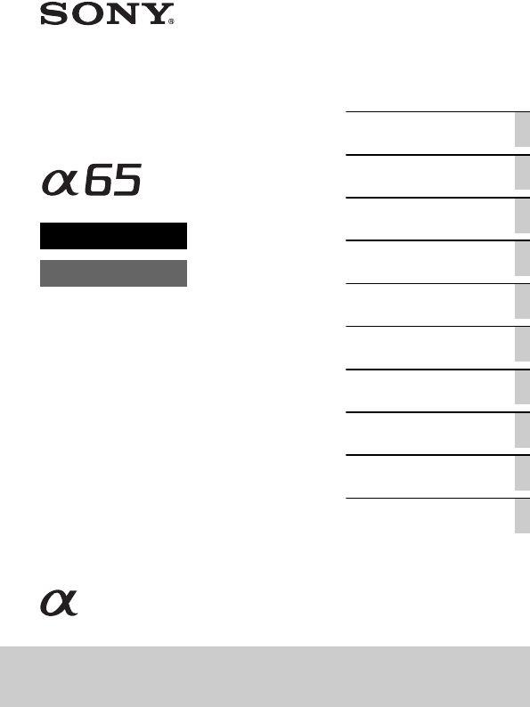 Handleiding Sony SLT-A65 (pagina 100 van 220) (2,84 mb