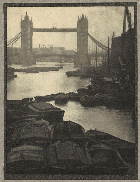 The Tower Bridge,London 1910  photogravurebyAlvin Langdon Coburn