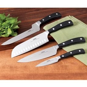 Shop CHEFS Knife Set with Case, 4 piece at CHEFS. $99.95