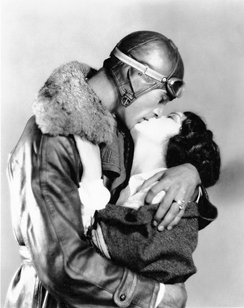 Fay Wray and Gary Cooper in The Legion of the Condemned, 1928