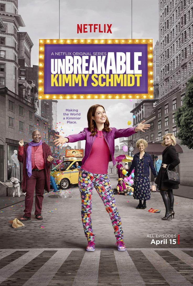 """The Unbreakable Kimmy Schmidt"" starring Ellie Kemper, Jane Krakowski, Tituss Burgess & Carol Kane"