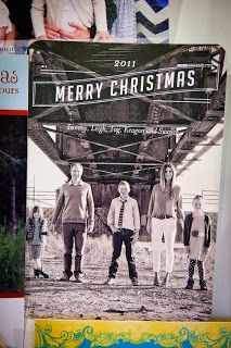 great family christmas card