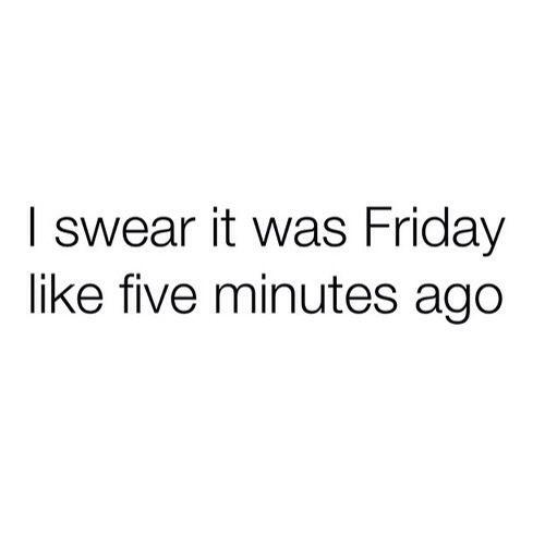Sunday Night, know the feeling!