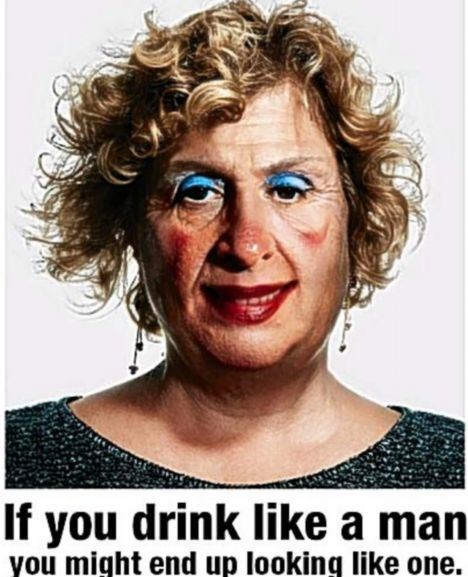A rather sexist binge drinking awareness campaign. Point taken, however. Click the image to read my blog about Beauty & the Booze.
