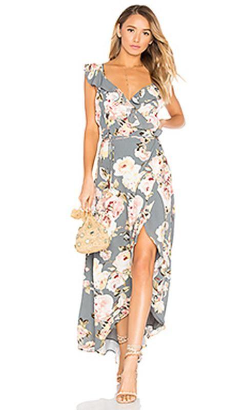 Длинное платье в цветочный принт4