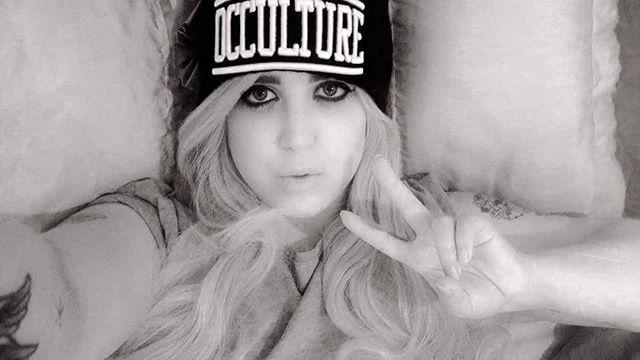 """Occulture"" Beanie Available at www.crmc-clothing.co.uk   WE SHIP WORLDWIDE Model @rhivonbee #tattooedwomen #girlswithtattoos #alternative #alternativeteen #altgirl #alternativegirl #fashionstatement #altfashion #instafashion #fashiongram #fashionista #fashionoftheday #picoftheday #photooftheday #stylegram #stylefashion #igers #love #beautiful #instalove #fashion #instagood #instastyle #instalike #instadaily"