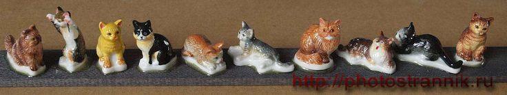 Кошки (Cats)   Нажмите на картинку для просмотра в истинную величину  Весьма известная серия натуралистически изображённых кошек, выпуск 1990-1991 годы.