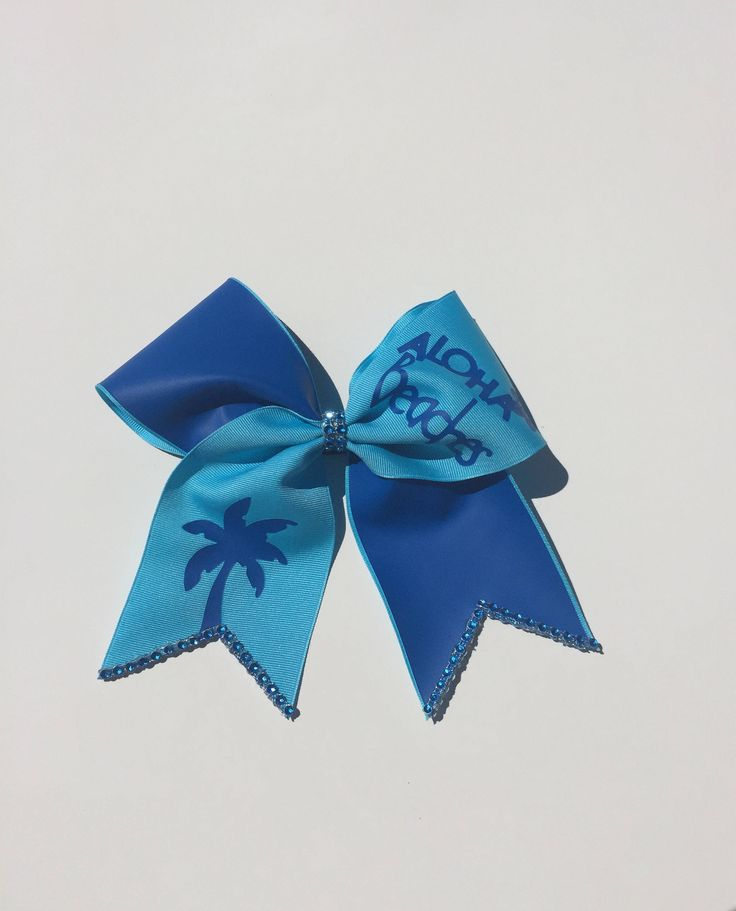 A personal favorite from my Etsy shop https://www.etsy.com/ca/listing/527024886/blue-cheer-bow-aloha-beaches