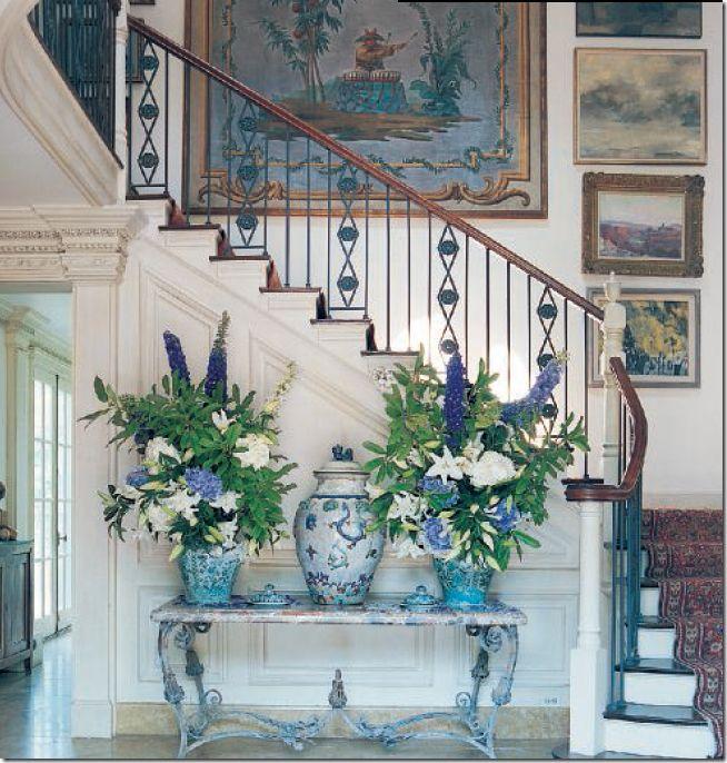 beautiful walls & flowers