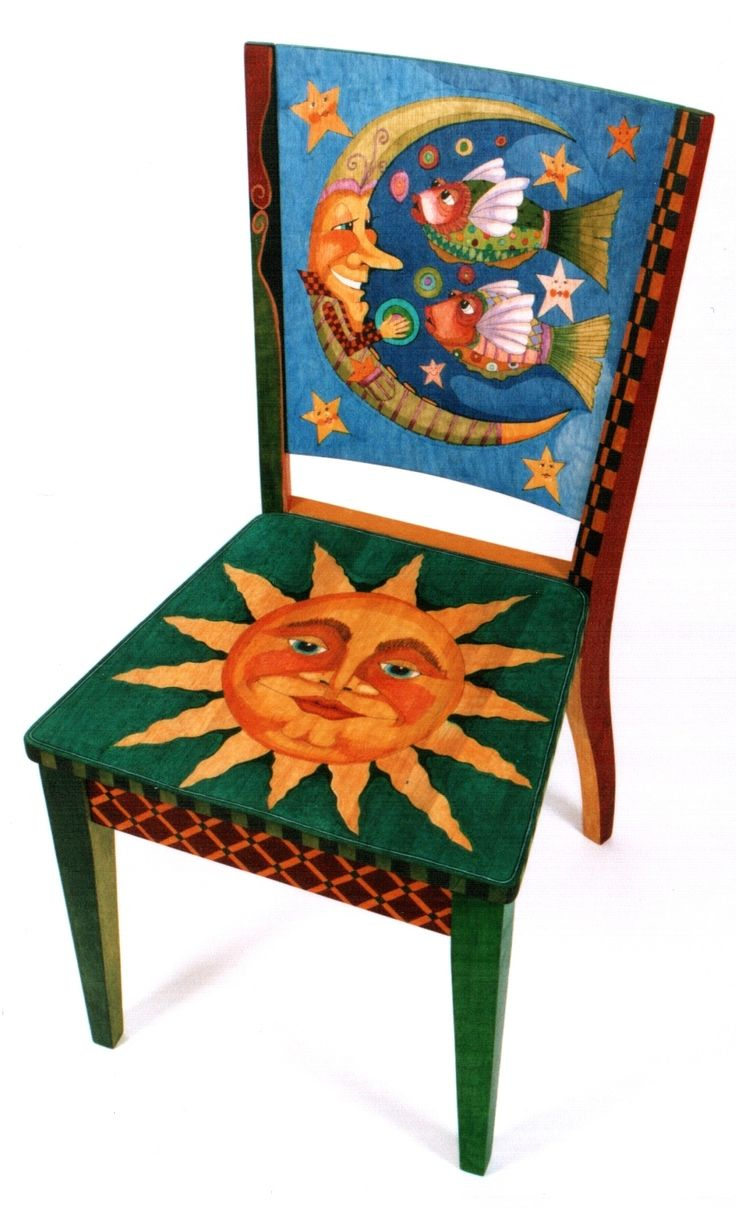 Cool chair paint designs - Find This Pin And More On Cool Chairs