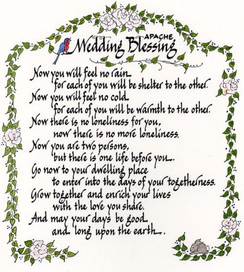 1000 Ideas About Wedding Blessing On Pinterest
