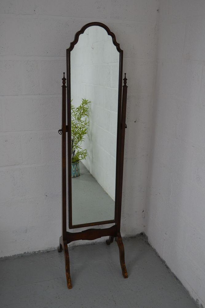Cheval Mirror on Powell Heirloom Cherry Cheval Floor Mirror