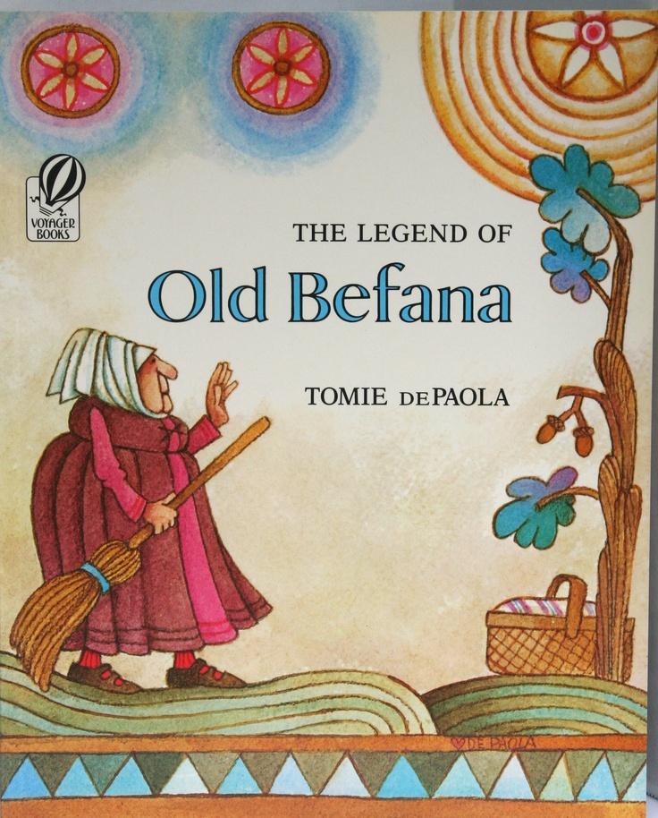 Legend Of Old Befana Craft