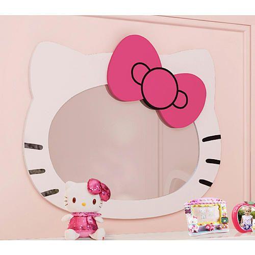 Hello Kitty Mirror - Ady's room
