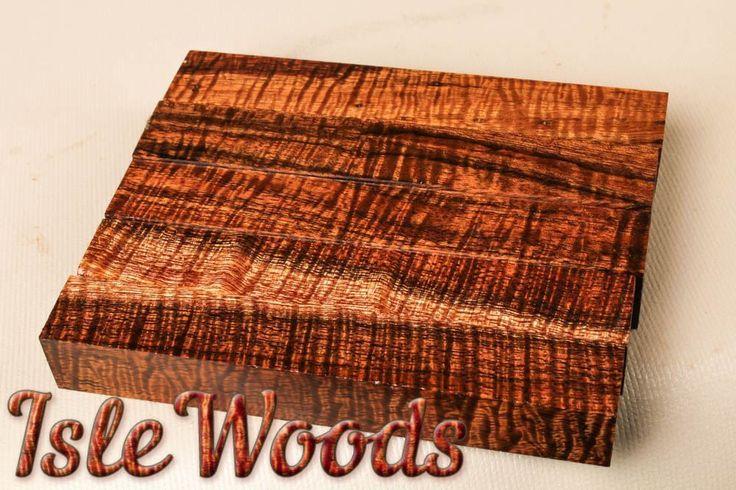 Premium Grade Old Growth Fiddleback Curly Koa Pen Blanks  PB8696 #Islewoods